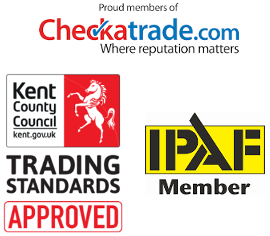 Gutter cleaning accreditations, checktrade, Trusted Trader, IPAF in Bexley