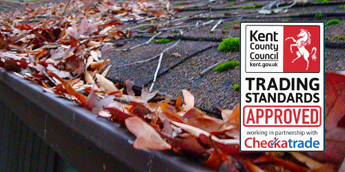 Gutter cleaning in Bexleyheath, Eltham, Sidcup and Welling